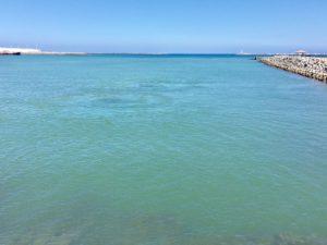 海の日にブルーを感じて。