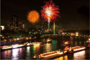 大阪はもうすぐ天神祭り!