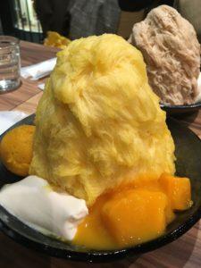 夏色、黄色のカキ氷!
