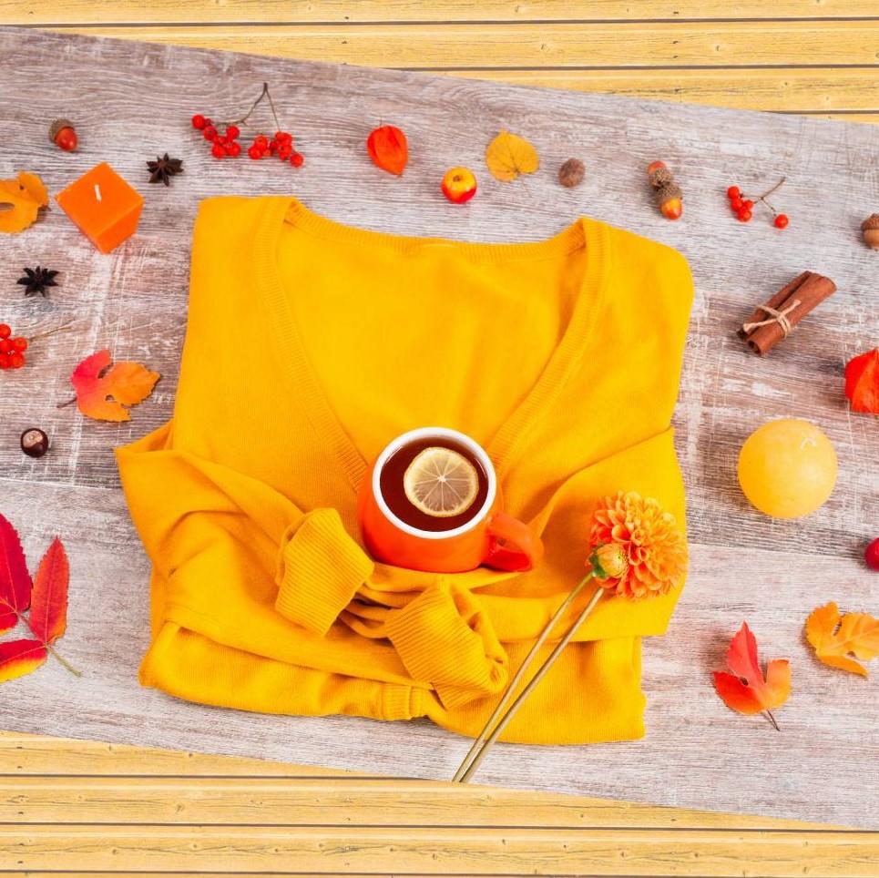 イエローで秋を楽しむ✫